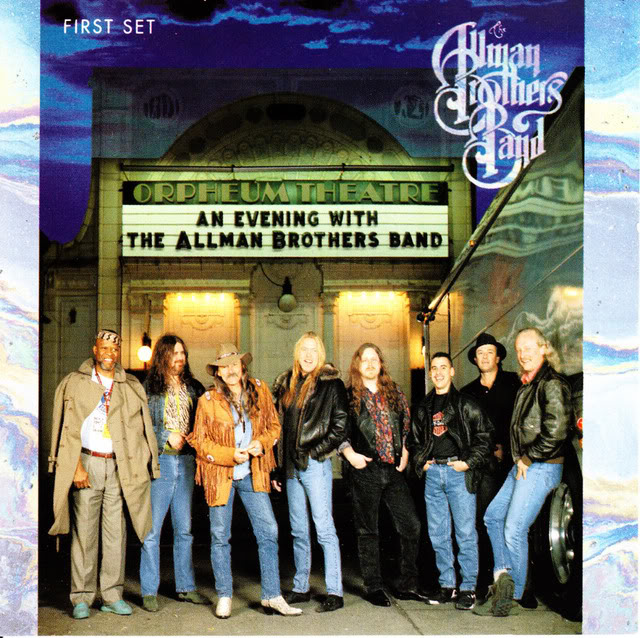 The Allman Brothers (first album, 1969)t - Album cover photo