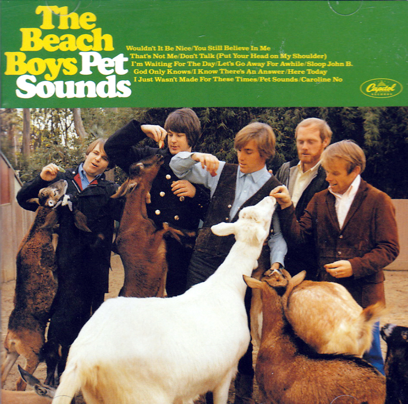 The Beach Boys Pet Sounds 1966 Album Cover Location San Diego