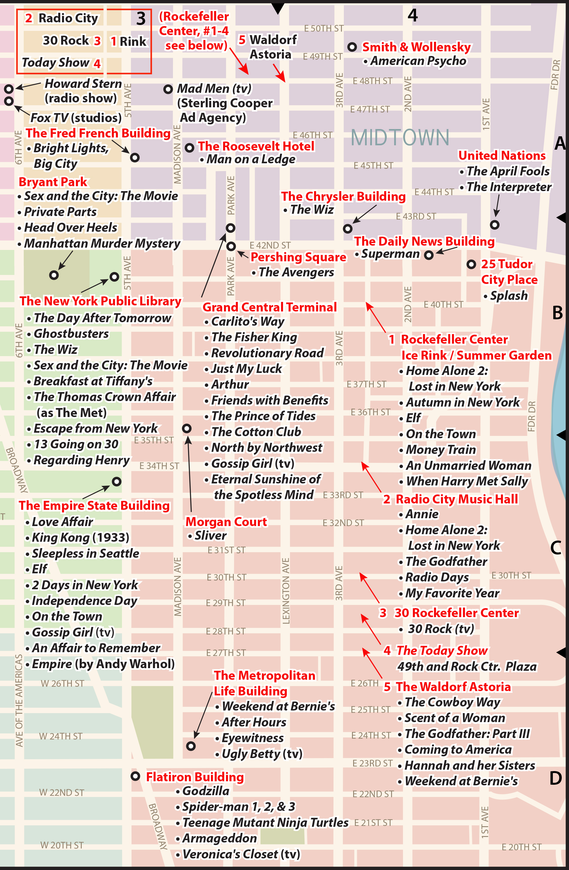 The PopSpots Guide to Pop Culture in New York City on