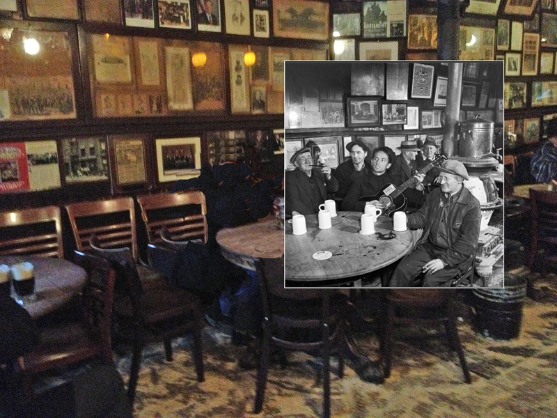Popspots Woody Guthrie At Mcsorley S Old Ale House 1943
